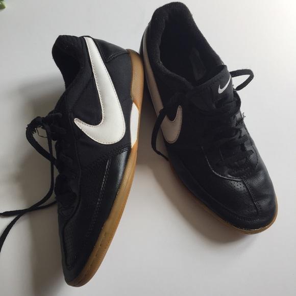 Nike large swoosh shoes